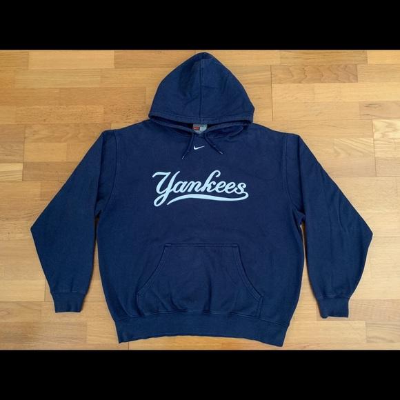 1716b0706c345 Nike New York Yankees Pullover Hoodie Sweatshirt